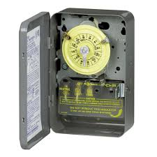 how to set light timer intermatic intermatic t101 series 40 amp 125 volt spst 24 hour mechanical time
