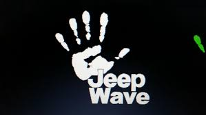 jeep wave sticker mirror jeep wave text decal vinyl decal sticker choose color