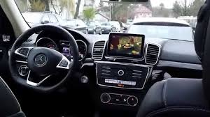 mercedes introduction mercedes gle suv introduction of the tv function and interior