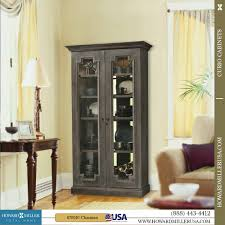 curio cabinets contemporary curio cabinets distressed aged