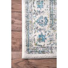 Teal And Gray Area Rug by Doylestown Blue Area Rug U0026 Reviews Allmodern