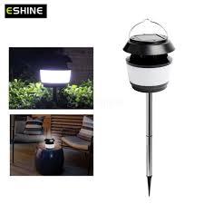 eshine ultrasonic mosquito repellent lamp solar garden lawn light