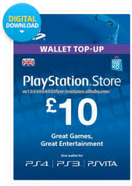 playstation gift card 10 sony playstation uk store gift card 10 gbp buy sony playstation