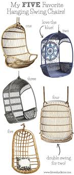 hanging swing chair bedroom favorite hanging rattan swing chairs driven by decor