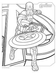 avengers coloring pages captain america coloringstar