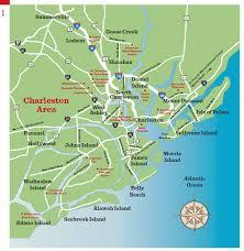 Map South Carolina Coast Charleston Sc Maps Traveler Mag