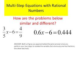 1 multi step equations