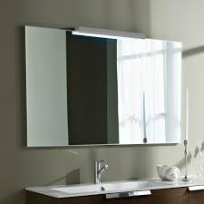 bathroom mirror be equipped makeup mirror with lights be equipped