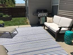 cleaning outdoor rugs cleaning your indoor outdoor rug our storied home