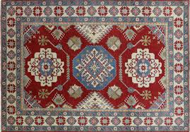 mesa collection hand knotted super kazak 9x12 red oriental wool