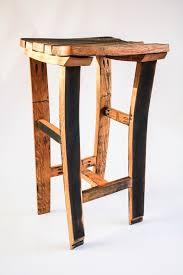 oak scotch whisky barrel stave bar kitchen breakfast bar stool