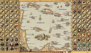 Map Of The Caribbean Sea by Guide Sea Dogs To Each His Own Worldmap Improvisation