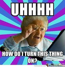 Computer Grandma Meme - littçe grandma using laptop by xxjaimetrolls4lifexx meme center