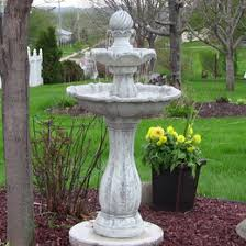 Outdoor Water Features With Lights by Solar On Demand Fountains Solar Fountain Pump With Battery