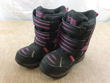s totes boots size 12 toddler totes tracy white black boots size 5 ebay