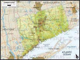 Block Island Map Geoatlas United States Canada Connecticut Map City