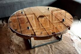 outdoor tables made out of wooden wire spools wooden cable spool tables diy projects and ideas