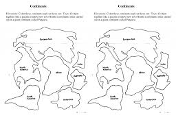 Blank Map Of Tectonic Plates by Continents Coloring Page Diaet Me
