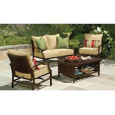 Conversation Sets Patio Furniture by Purchase The Shutter 4 Piece Patio Conversation Set For Less At