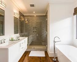 medium bathroom ideas 30 all favorite transitional medium tone wood floor bathroom
