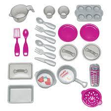 Kitchen Set Toys For Girls American Plastic Toys Custom Kitchen U2013 Pink Hayneedle