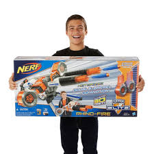 nerf terrascout nerf n strike elite rhino fire blaster ebay