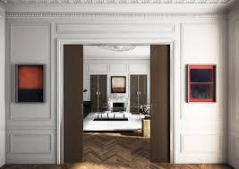 porte coulissante separation cuisine porte coulissante de separation de portes coulissantes