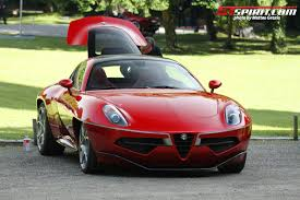 alfa romeo concept alfa romeo disco volante wins design award for concept cars and