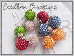 eridhan creations beading tutorials a simple beaded pendant