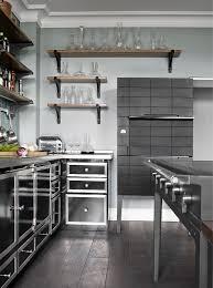 design kitchens la cornue cornufe range gloss black kitchen la
