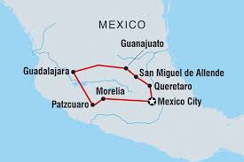 Southern Mexico Map by Mexico Tours U0026 Travel Intrepid Travel Us