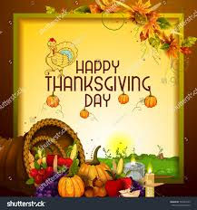 easy edit vector illustration thanksgiving harvesting stock vector