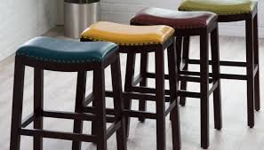 White Leather Bar Stool Furniture Enticing Stupendous Counter Bar Stools With Arms And