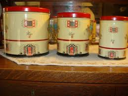 106 best vintage canisters images on pinterest vintage canisters
