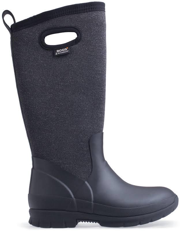 Bogs Crandall Melange Tall Black Multi Medium 7 72036-009-M-