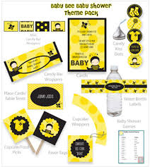 bumble bee baby shower theme baby shower food ideas baby shower ideas bumble bee theme