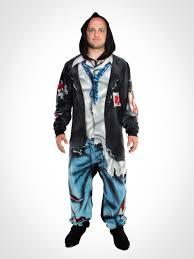 walking dead hooded footie pajamas