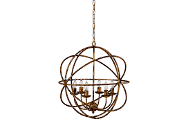 marais 6 light orb chandelier by ballard designs havenly bella 6 light chandelier modern gold