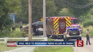 2 students killed in crash vigils held newschannel 5 nashville