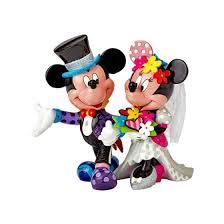 mickey and minnie wedding britto mickey minnie wedding figurine