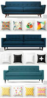 Large Pillows For Sofa by Sofa Pillows Category Best Couch Pillows Blue Pillows For Couch