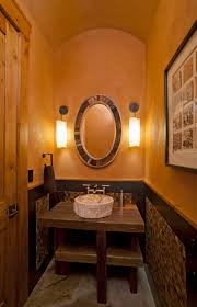 Tiny Powder Room Sinks Bathroom Fabulous Pair Of Wall Mount Tube Light Fixtures Between