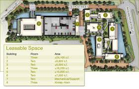 building site plan parc24 green and sustainable office cus vero florida