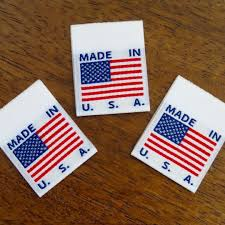 Flags Made In Usa Made In Usa Flag Clothing Labels White Cruz Label Store