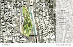 Los Angeles Street Map by Gallery Of 7 Firms Reveal Plans For Los Angeles River