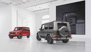 mercedes benz g class gets new special editions the torque report
