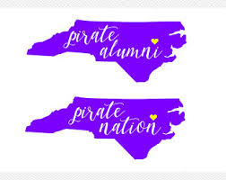 of south carolina alumni sticker pirate nation sticker pirate nation decal ecu decal east