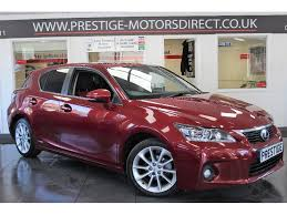 lexus ct200h bhp used lexus ct 200h hatchback 1 8 se cvt 5dr in newton le willows