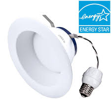 Led Bulbs For Recessed Can Lights by Cree Tw Series 65w Equivalent Daylight 5 000k 6 In Dimmable Led