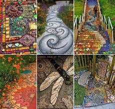 best 25 mosaic walkway ideas on pinterest stone work pebble